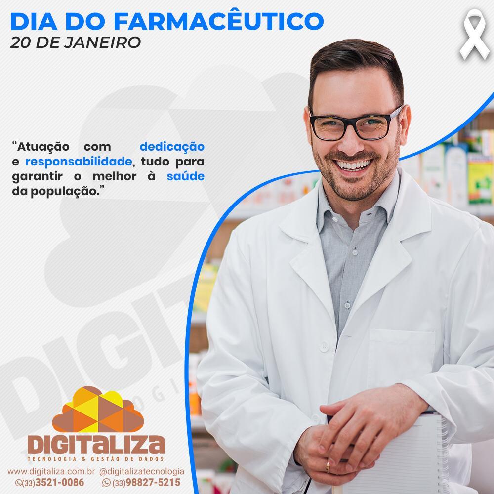20 DE JANEIRO, DIA DO FARMACÊUTICO