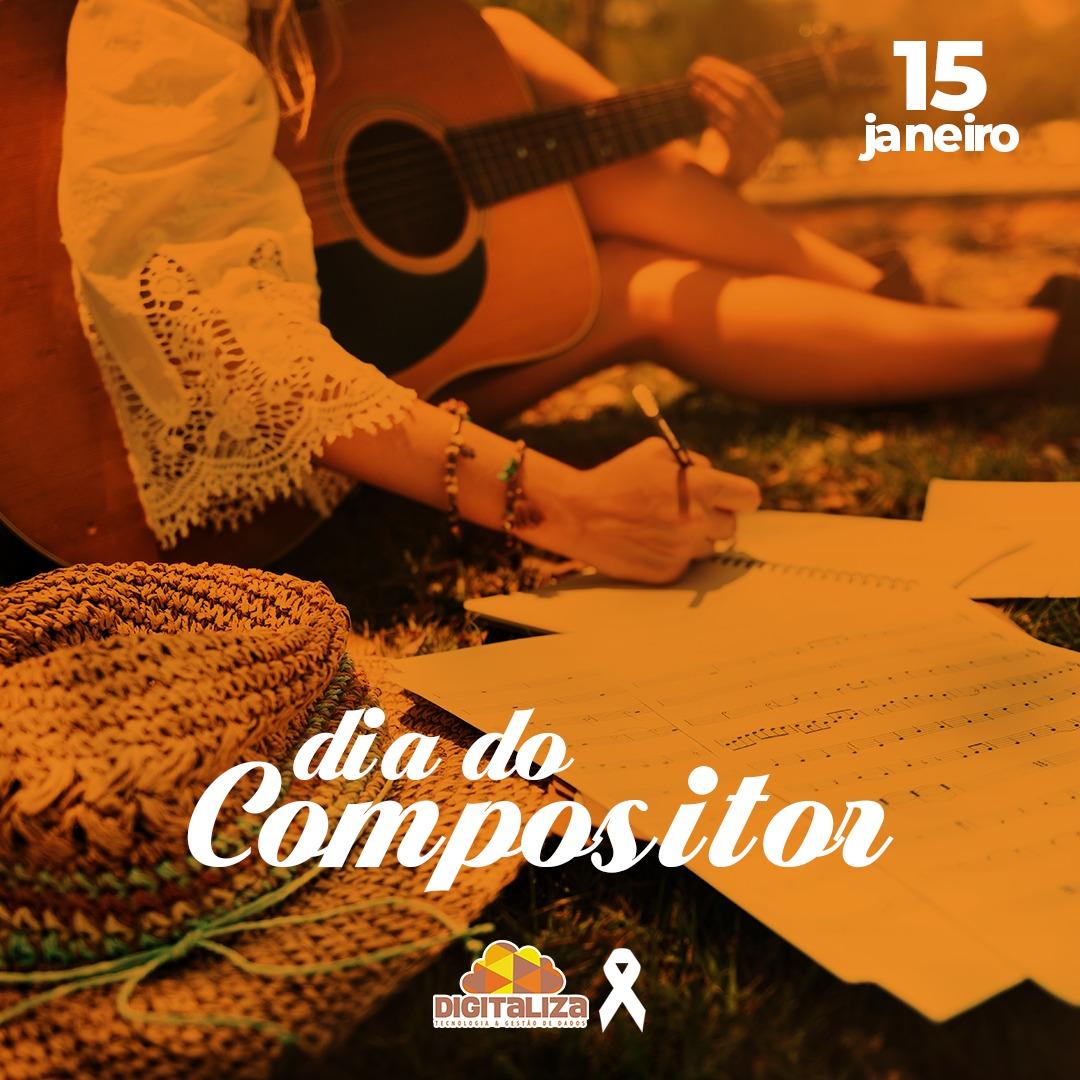 DIA DO COMPOSITOR - 15 DE JANEIRO DE 2021