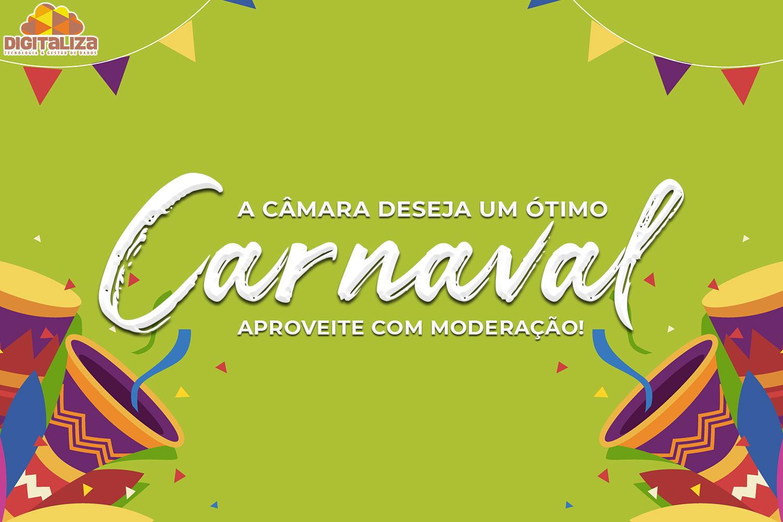 A Câmara deseja um ótimo Carnaval