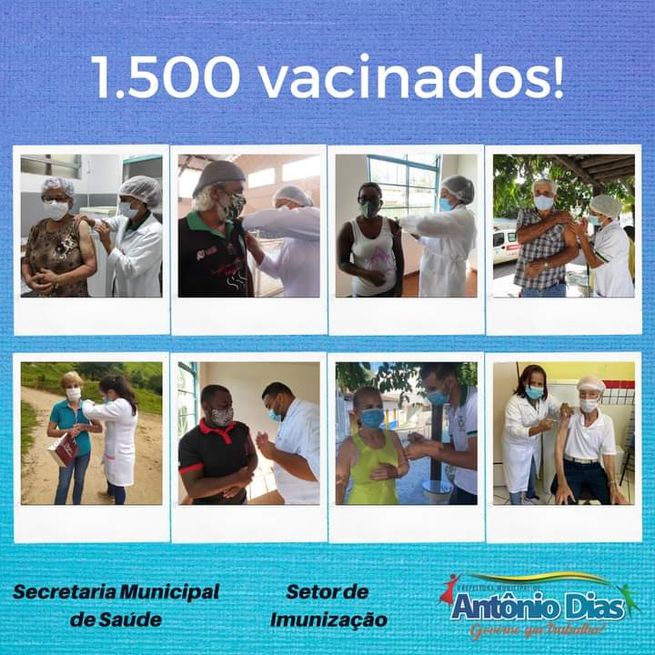 1.500 VACINADOS