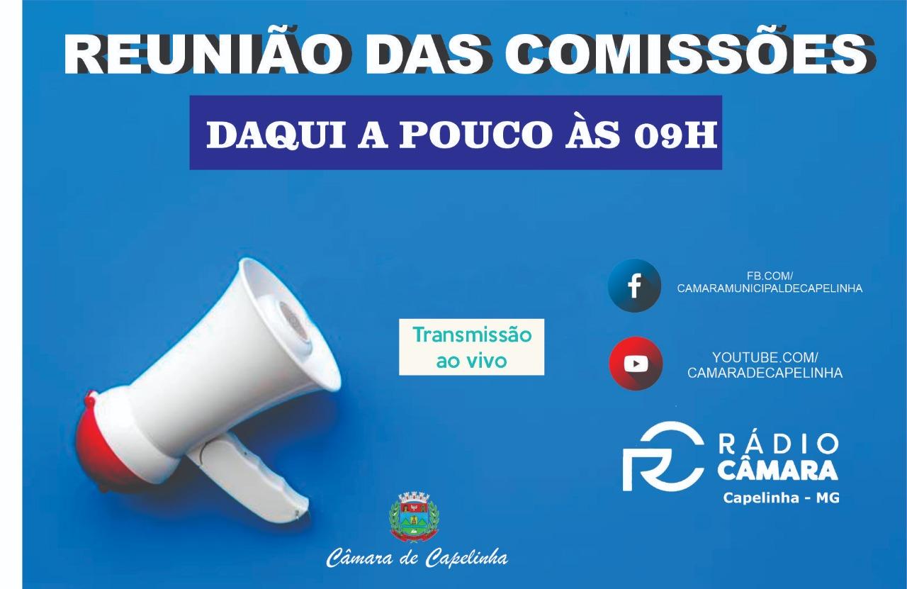 ESTAMOS AO VIVO COM A REUNIÃO DAS COMISSÕES - 19/11/...