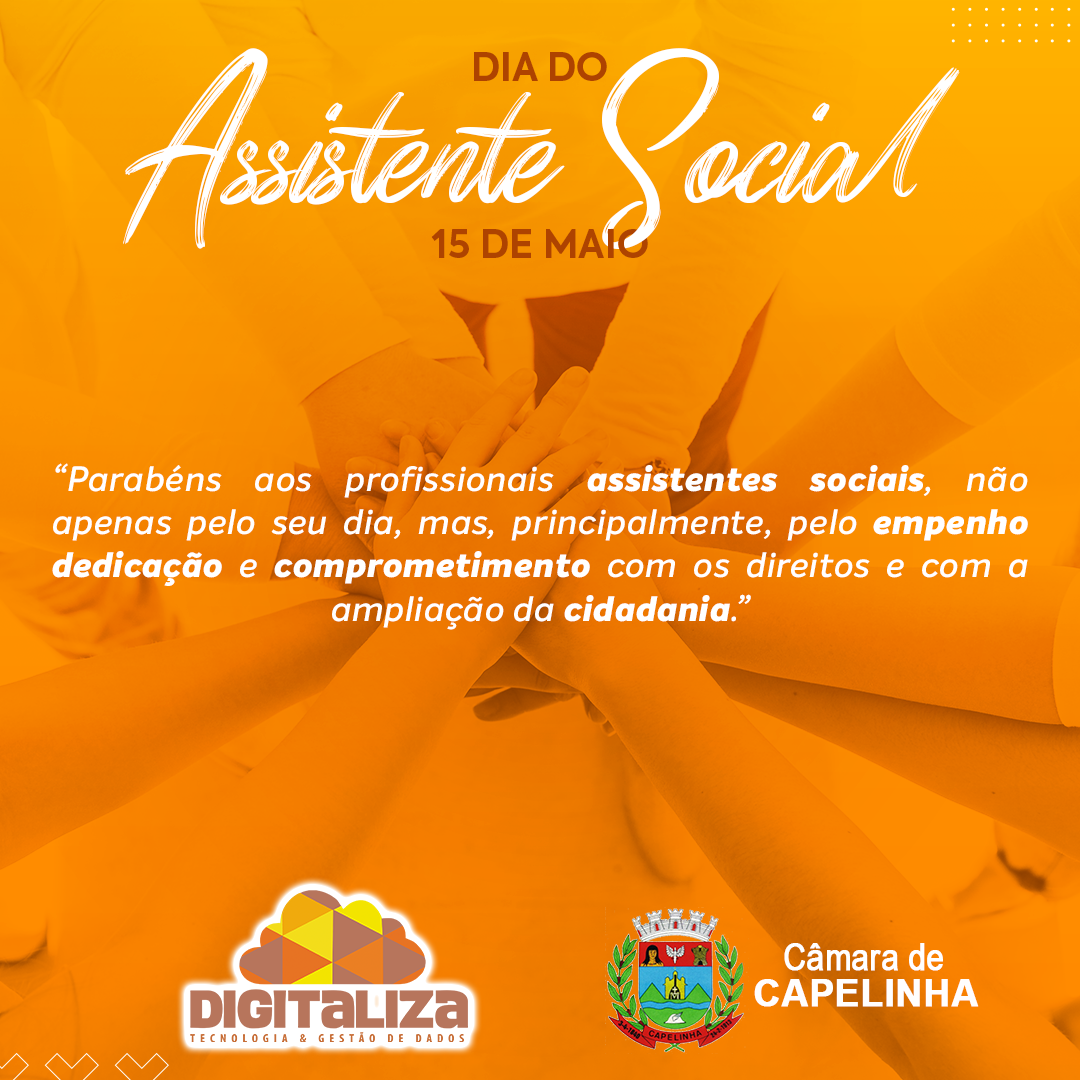 Dia do Assistente Social - 15/05/2020