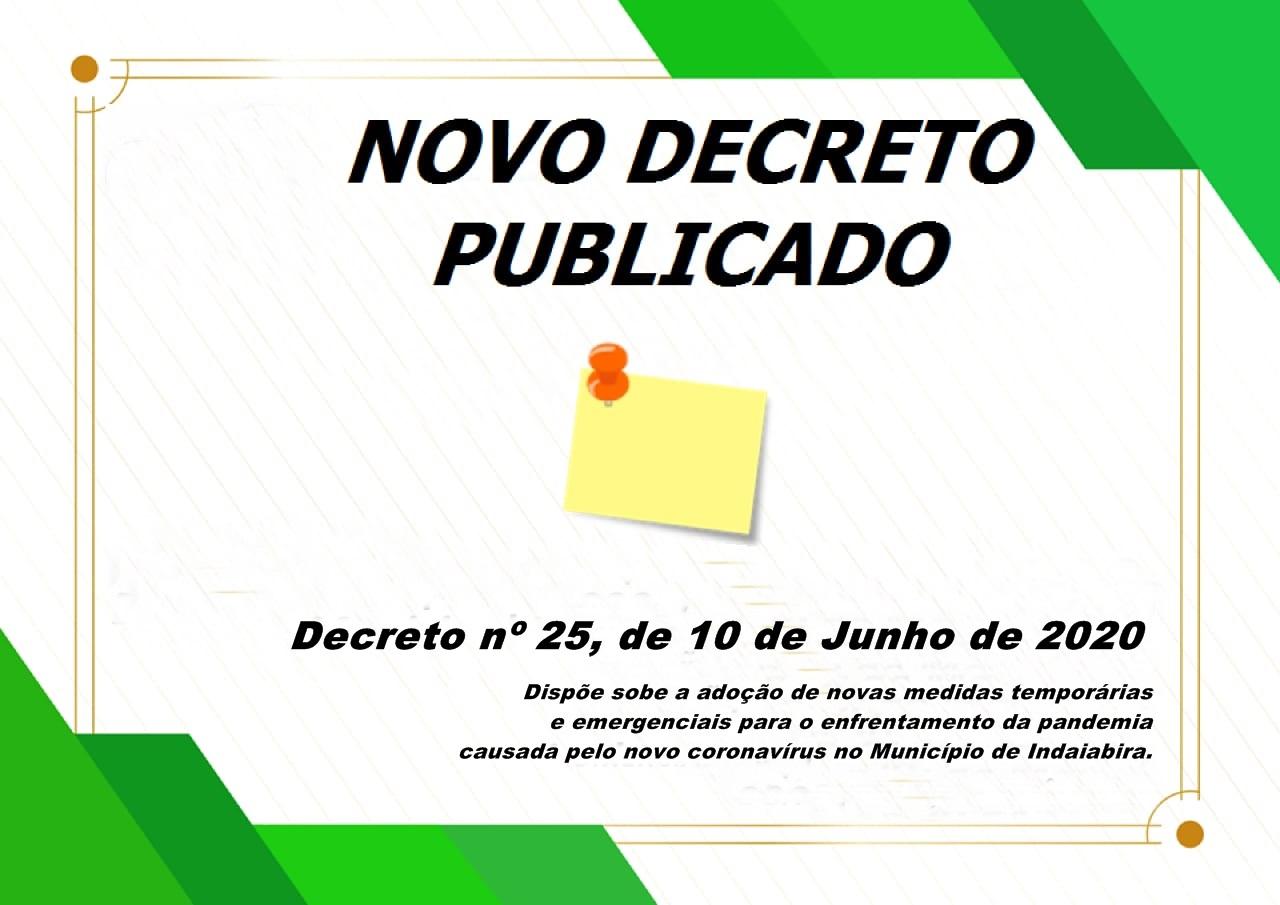 DECRETO 25/2020
