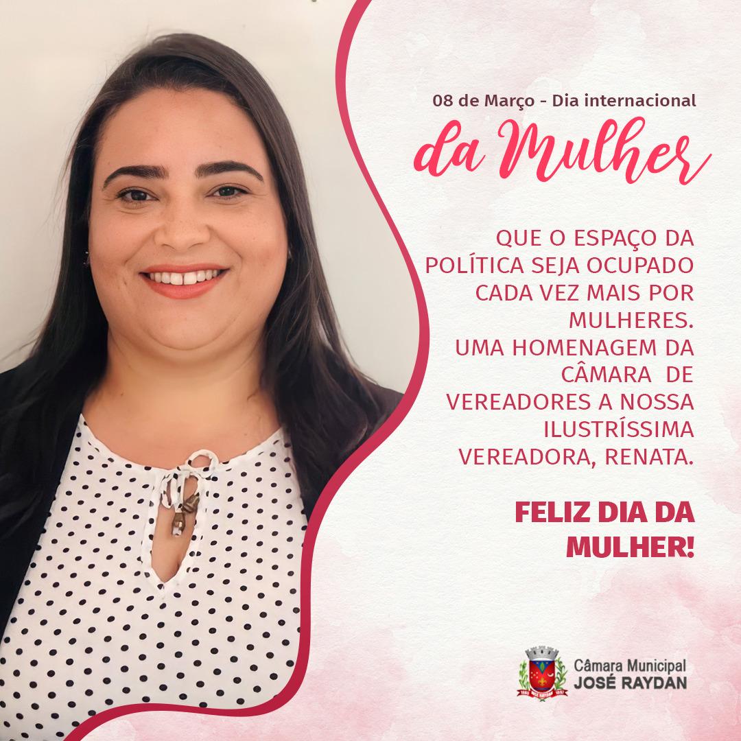 08 DE MARÇO DE 2021 - DIA DAS MULHERES!