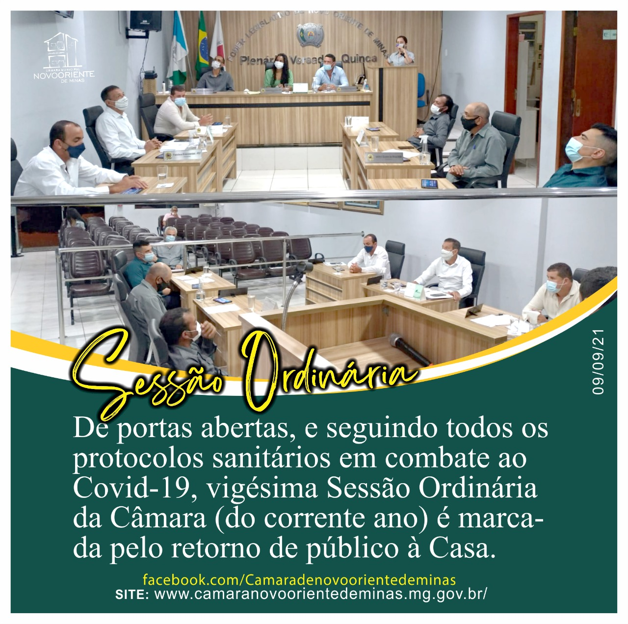 VIGÉSIMA SESSÃO ORDINÁRIA