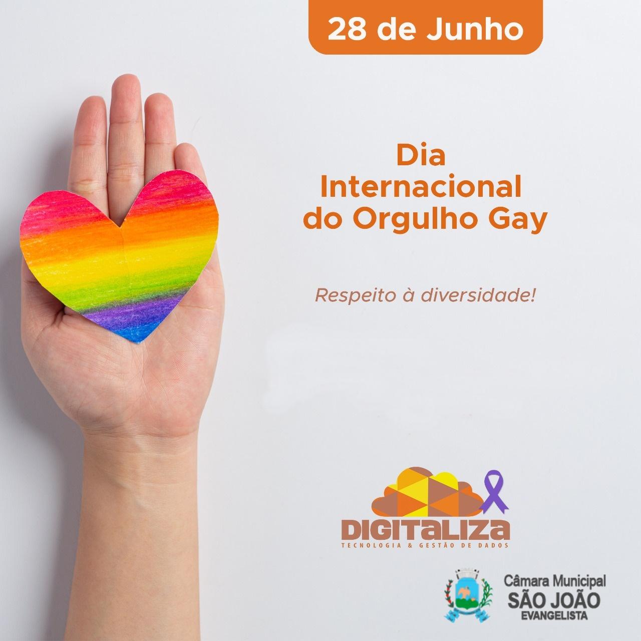 DIA INTERNACIONAL DO ORGULHO GAY - 2021