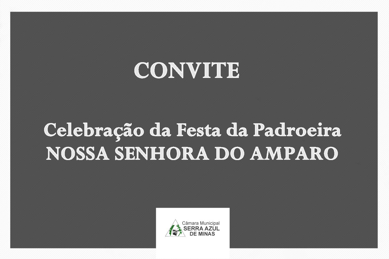 FESTA DA PADROEIRA NOSSA SENHORA DO AMPARO - 2021
