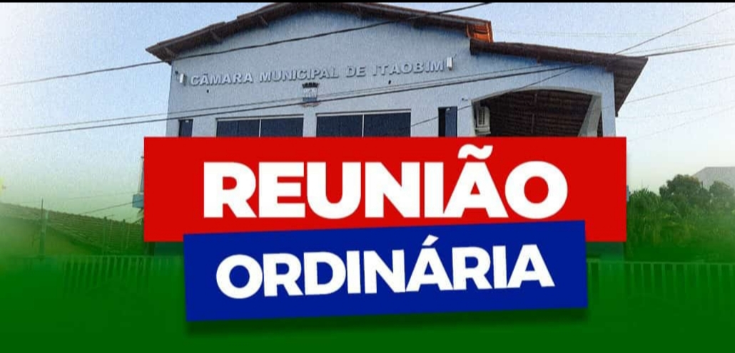 REUNIÃO ORDINÁRIA - 12/03/2021