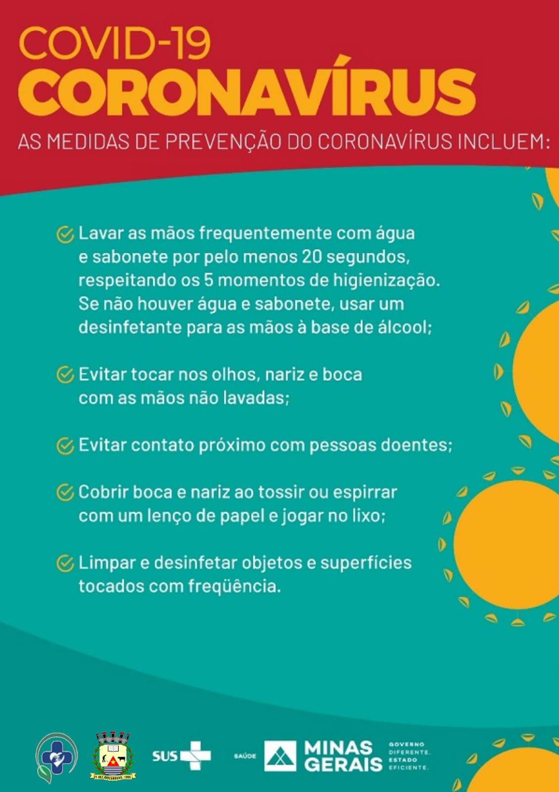 AS MEDIDAS DE PREVENÇÃO AO CORONAVÍRUS PERMANECEM