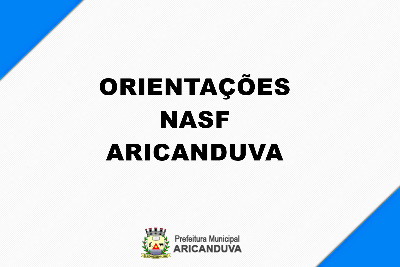 ORIENTAÇÕES DE EXERCÍCIOS DOS PROFISSIONAIS DO NASF ...