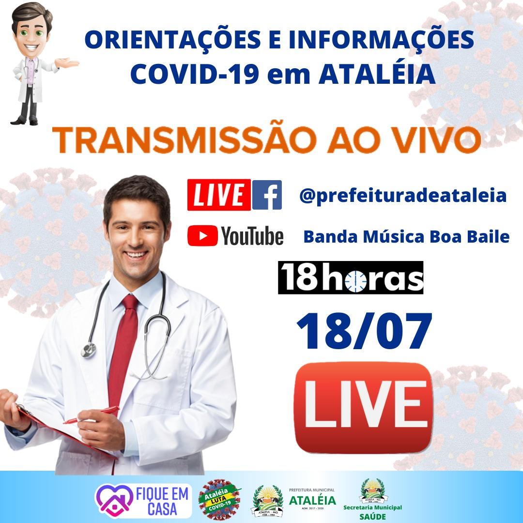 ATALÉIA CONTRA O CORONAVÍRUS - LIVE (18/07/2020)