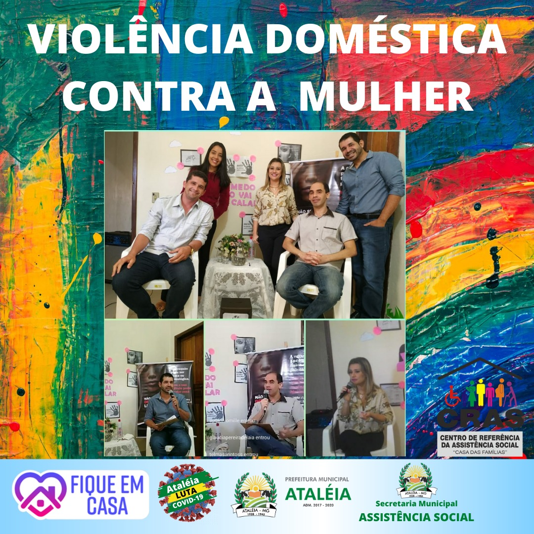 LIVE – VIOLÊNCIA DOMÉSTICA CONTRA A MULHER