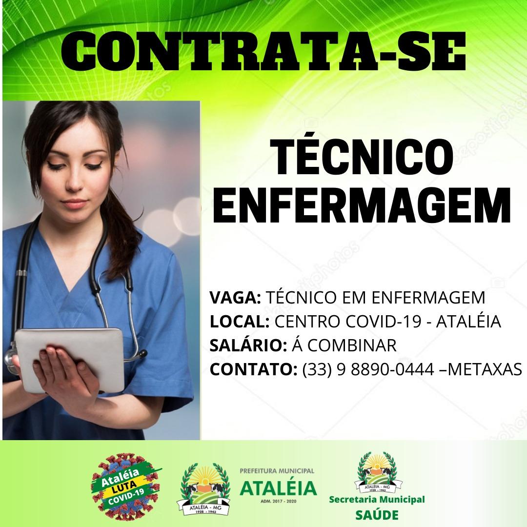 PREFEITURA MUNICIPAL DE ATALÉIA CONTRATA TÉCNICO EM ...