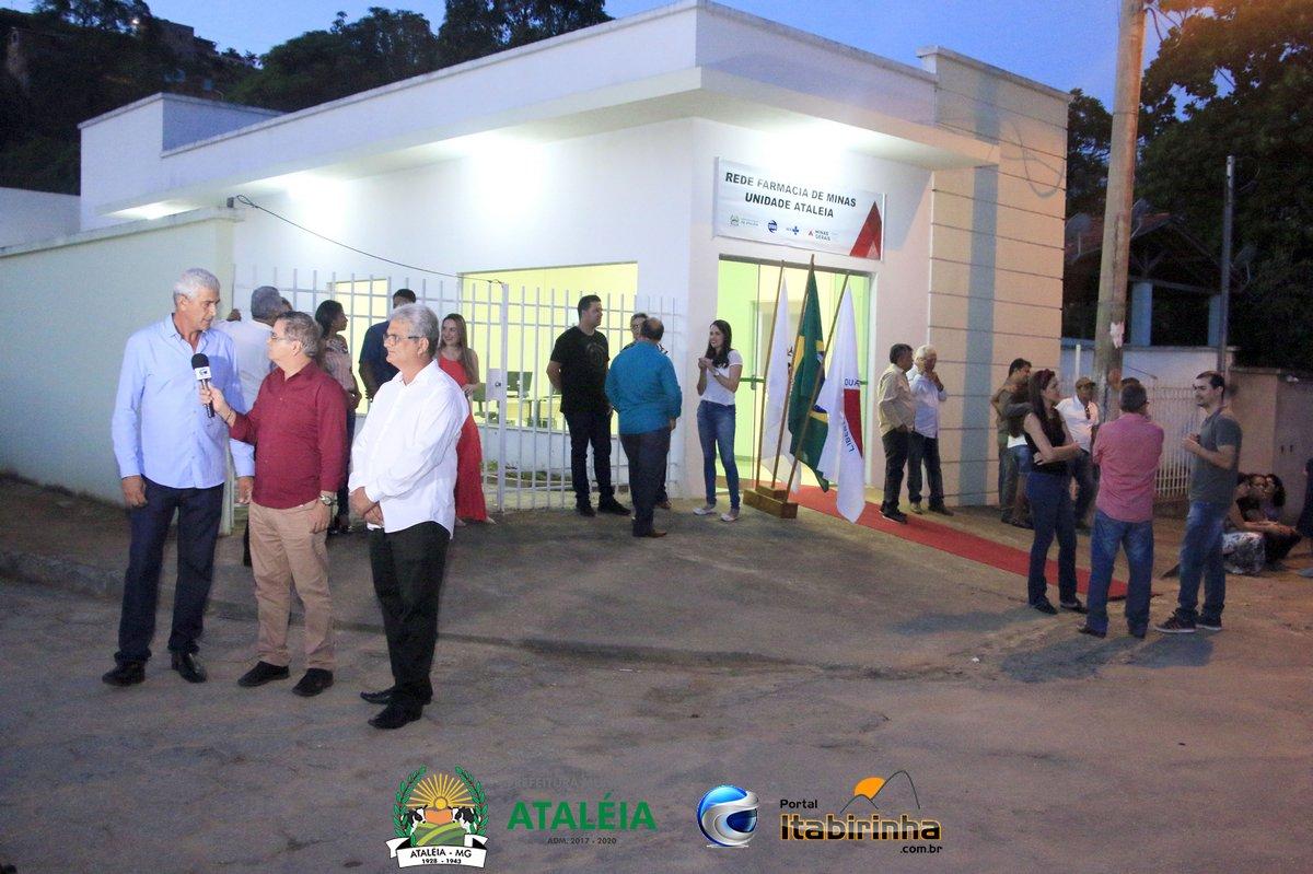 PREFEITURA INAUGURA FARMÁCIA DE MINAS EM ATALÉIA