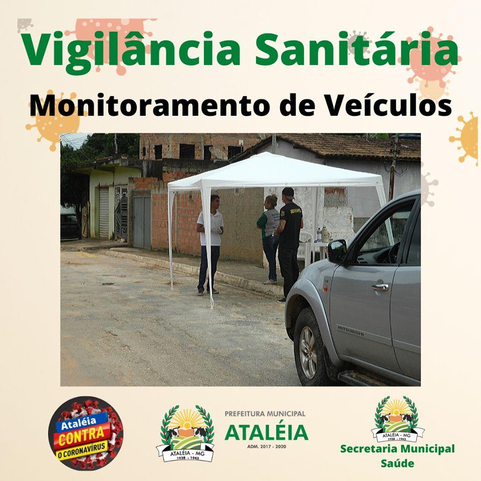 VIGILÂNCIA SANITÁRIA, MONITORAMENTO DE VEÍCULOS