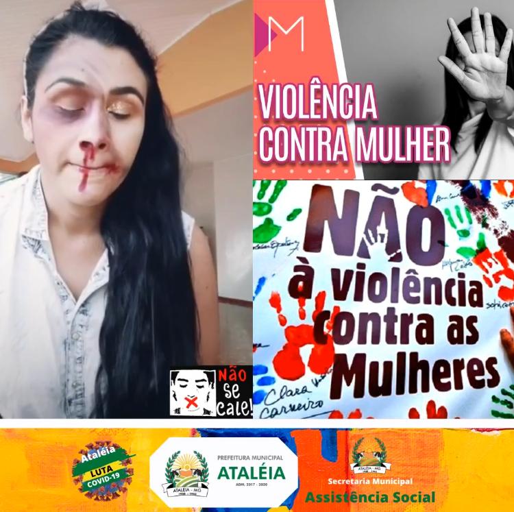 VIOLÊNCIA CONTRA MULHER: DIGA NÃO