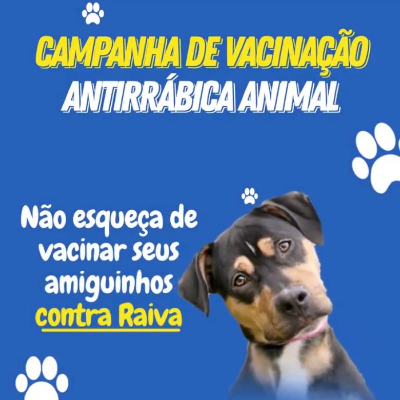 CAMPANHA DE VACINAÇÃO ANTIRRÁBICA ANIMAL 2021