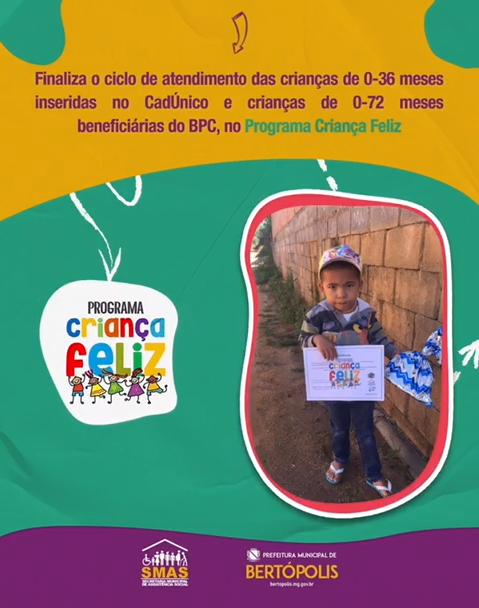 PROGRAMA CRIANÇA FELIZ ENCERRA MAIS UM CLICO DE USUÁ...