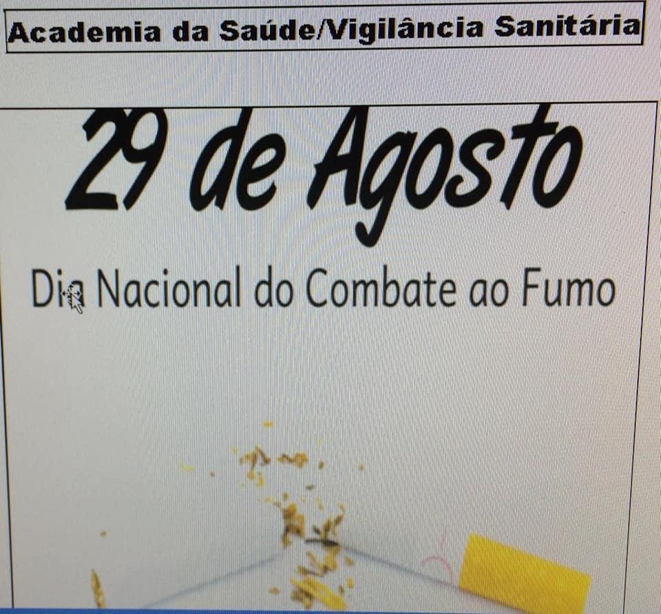 CAMPANHA DE COMBATE AO FUMO