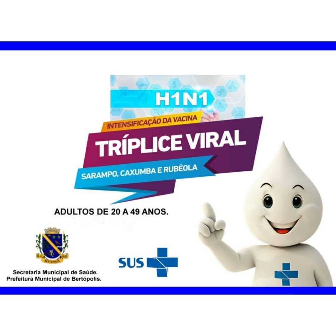 CAMPANHA DE VACINAÇÃO CONTRA INFLUENZA H1N1 - 2020