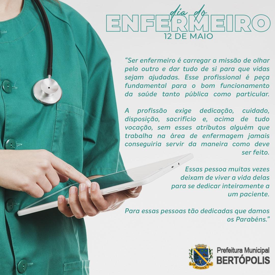 DIA INTERNACIONAL DO ENFERMEIRO, 12 DE MAIO DE 2020