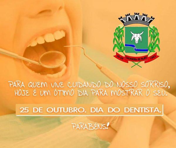 25 DE OUTUBRO, DIA DO DENTISTA
