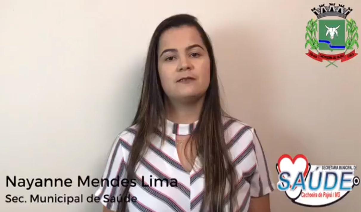 COMUNICADO IMPORTANTE DA SECRETARIA MUNICIPAL DE SAÚDE