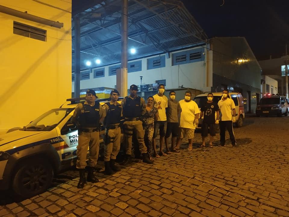 A SECRETARIA DE SAÚDE E PMMG PROMOVERAM AÇÃO DE CONS...