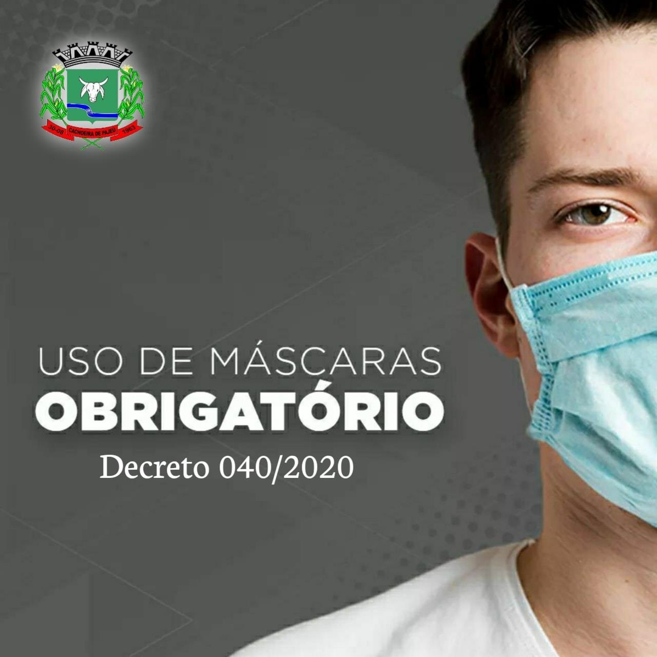 O USO DE MÁSCARAS É OBRIGATÓRIO PARA TRANSITAR NAS R...