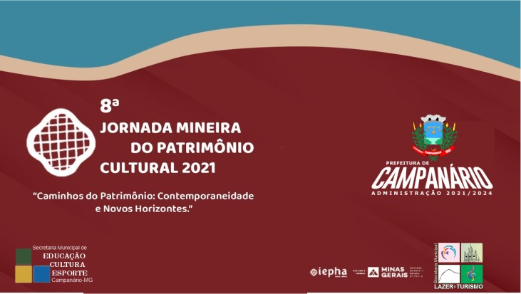 8ª JORNADA MINEIRA DO PATRIMÔNIO CULTURAL 2021