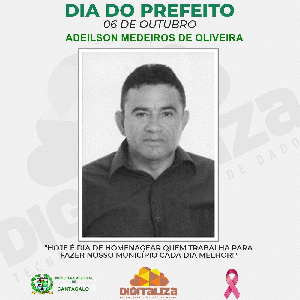 06 DE OUTUBRO, DIA DO PREFEITO