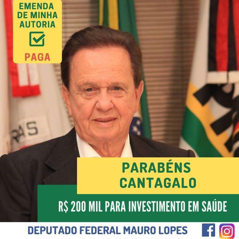 R$ 200 MIL PARA INVESTIMENTO EM SAÚDE