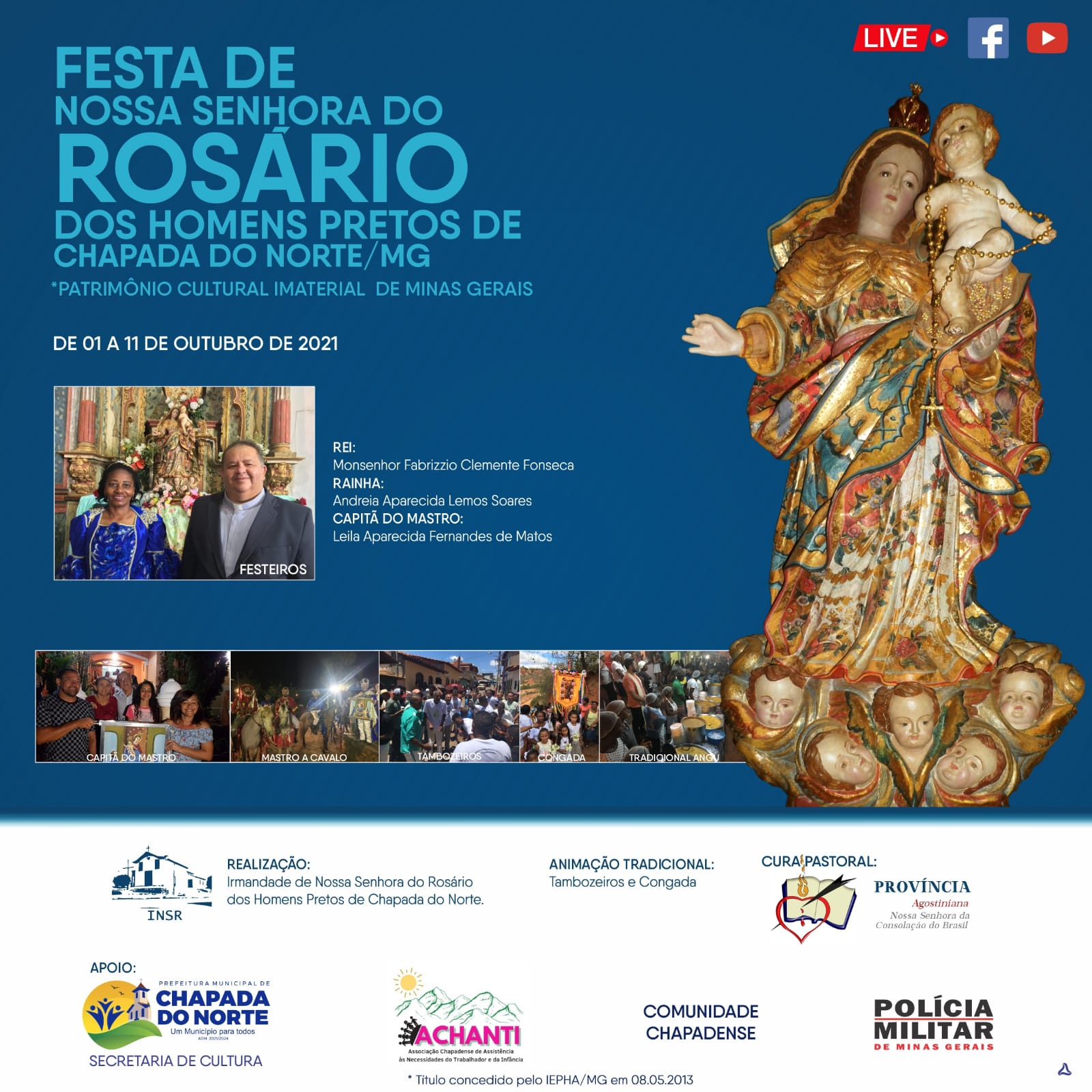 FESTA DE NOSSA SENHORA DO ROSÁRIO DOS HOMENS PRETOS ...