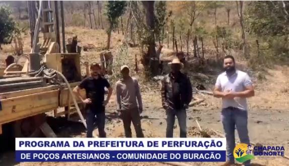 PROGRAMA DA PREFEITURA DE PERFURAÇÃO DE POÇOS ARTESI...