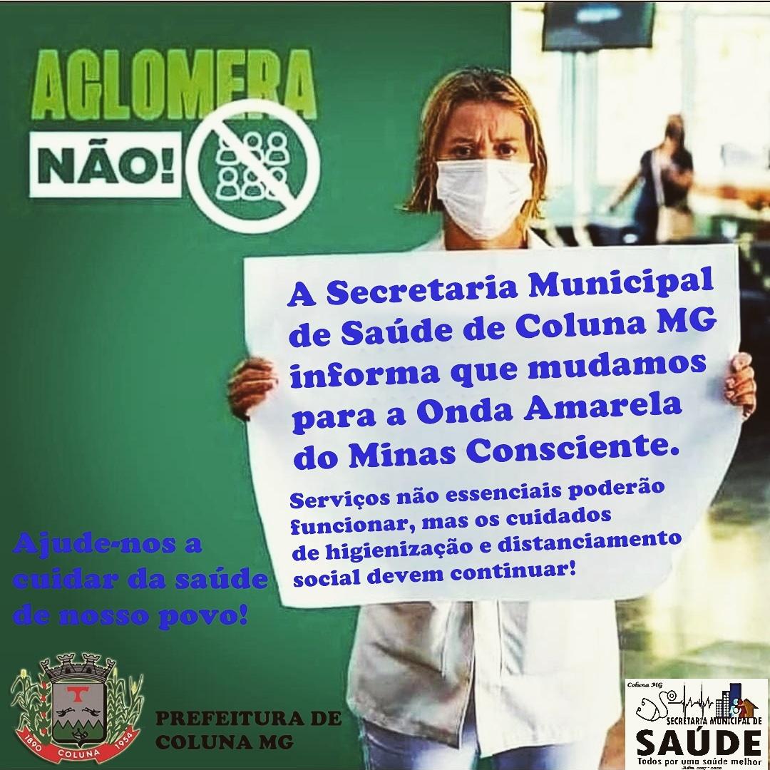 A SECRETARIA MUNICIPAL DE SAÚDE DE COLUNA/MG INFORMA...