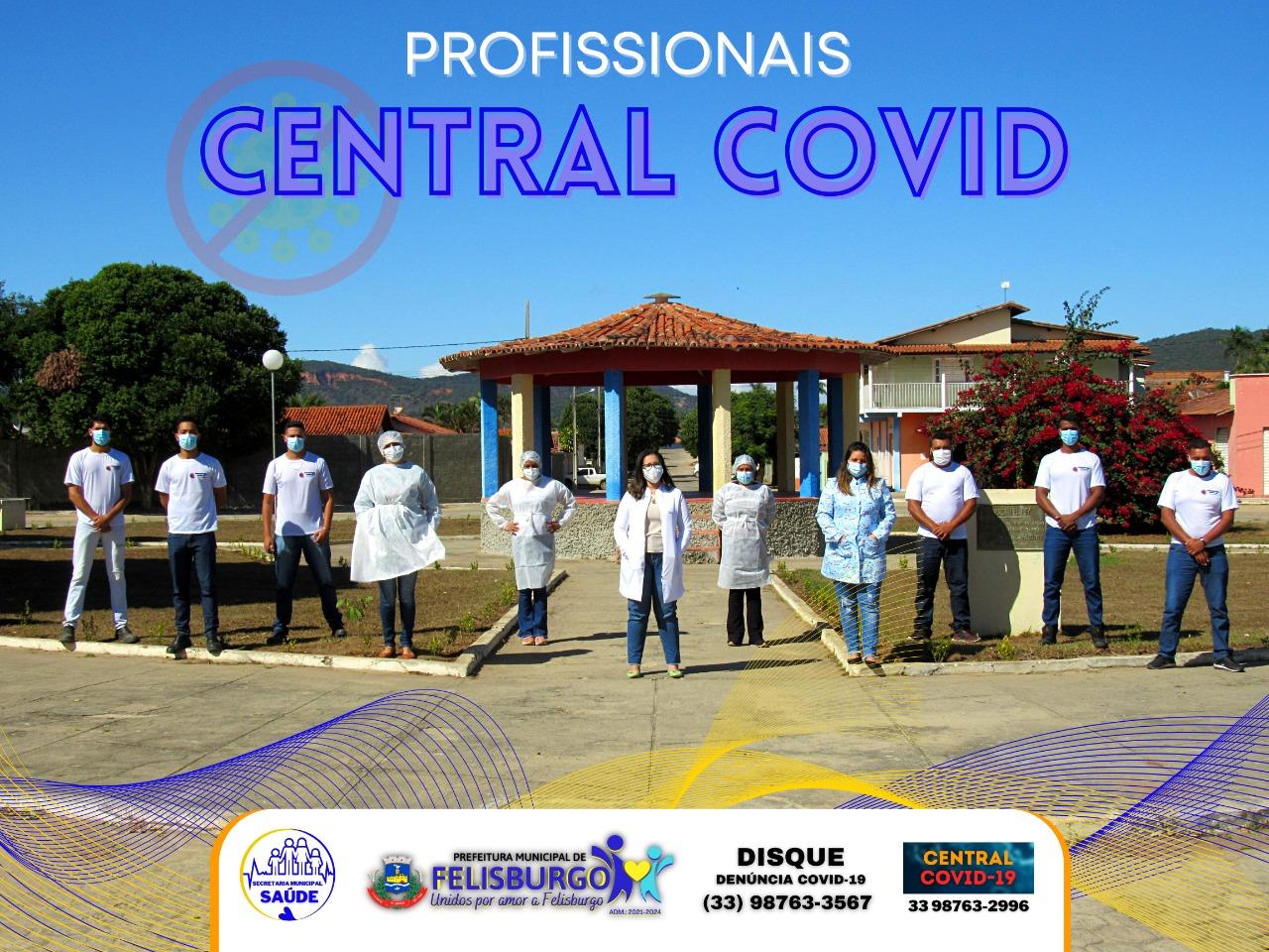 CONTEÚDO IMPORTANTE DA CENTRAL COVID-19
