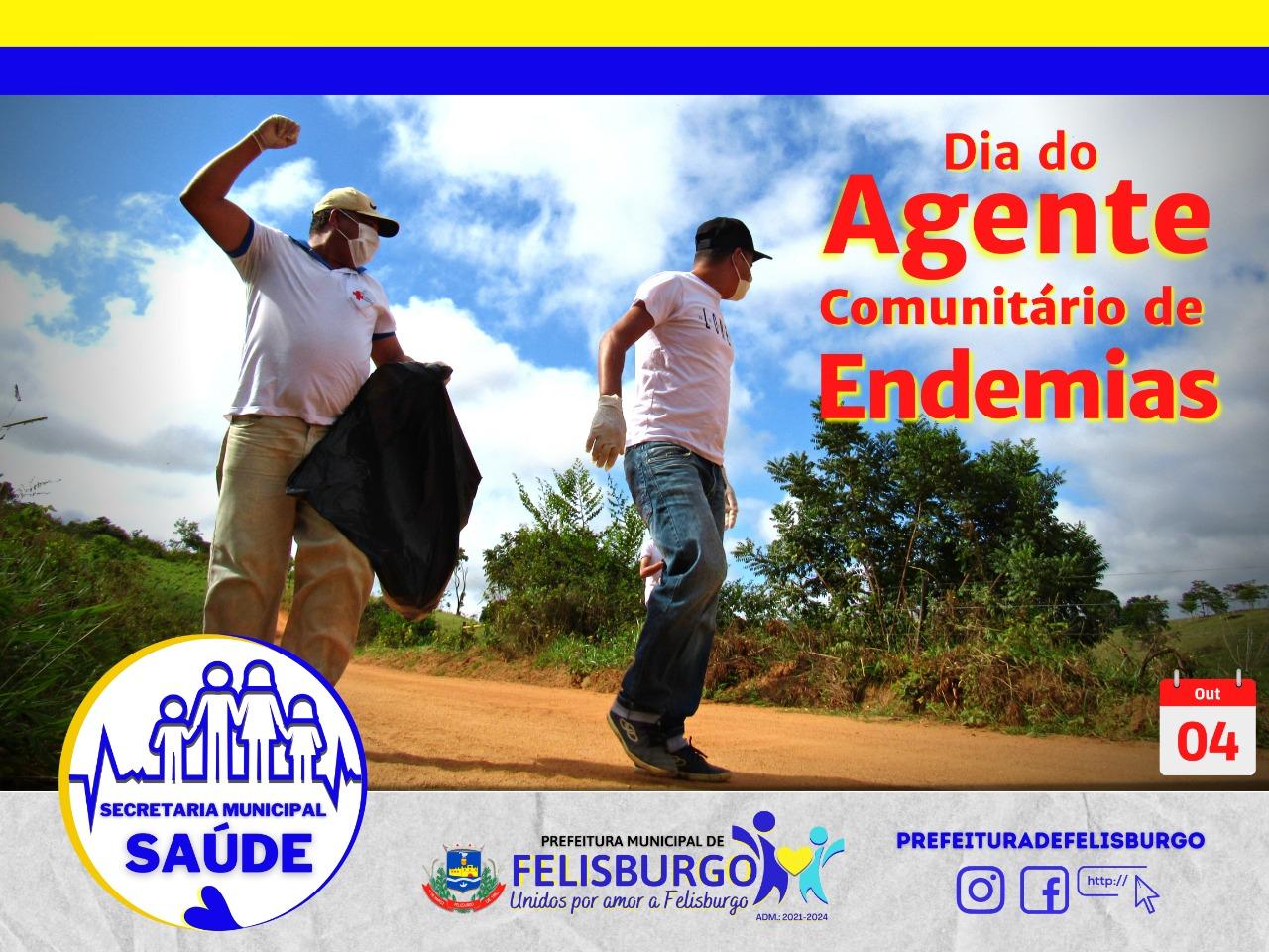 DIA DO AGENTE COMUNITÁRIO DE ENDEMIAS, 04 DE OUTUBRO