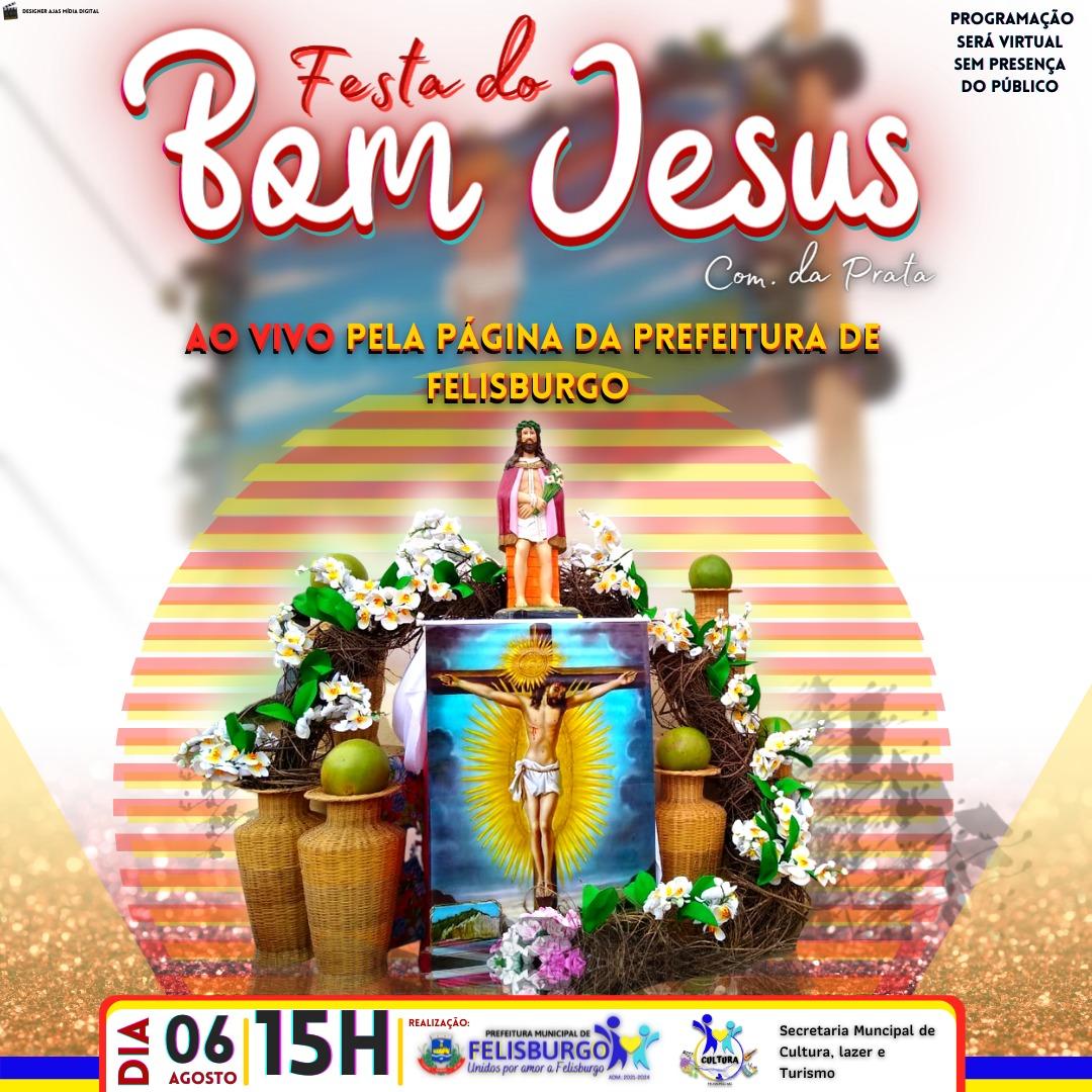 FESTA DO BOM JESUS - AO VIVO PELA PÁGINA DA PREFEITU...