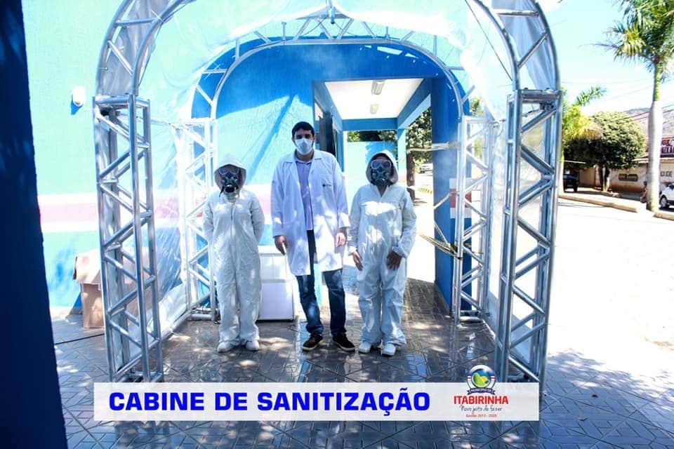 CABINES DE SANITIZAÇÃO - COMBATE À COVID-19