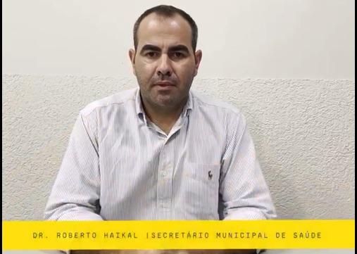 COMUNICADO DO SECRETÁRIO MUNICIPAL DE SAÚDE - DR. RO...