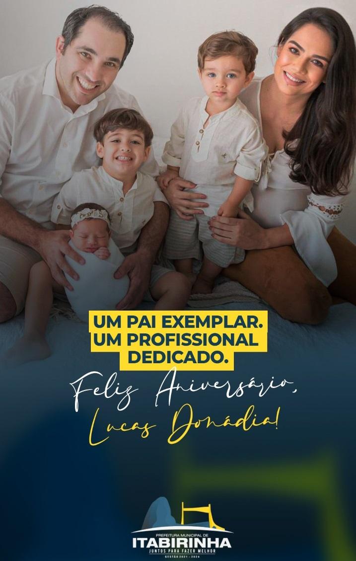 PARABÉNS, LUCAS DONÁDIA