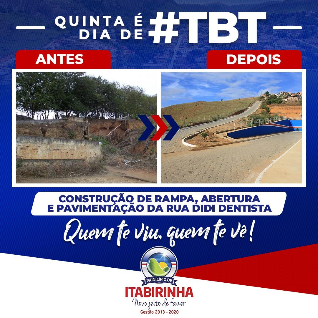 QUINTA É DIA DE #TBT - 30/07/2020
