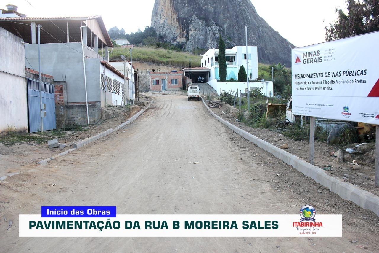 RUA B DO BAIRRO MOREIRA SALES, ATRÁS DO GALPÃO DA PR...