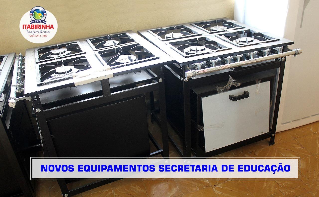 SECRETARIA DE EDUCAÇÃO ADQUIRE R$ 14 MIL EM EQUIPAME...