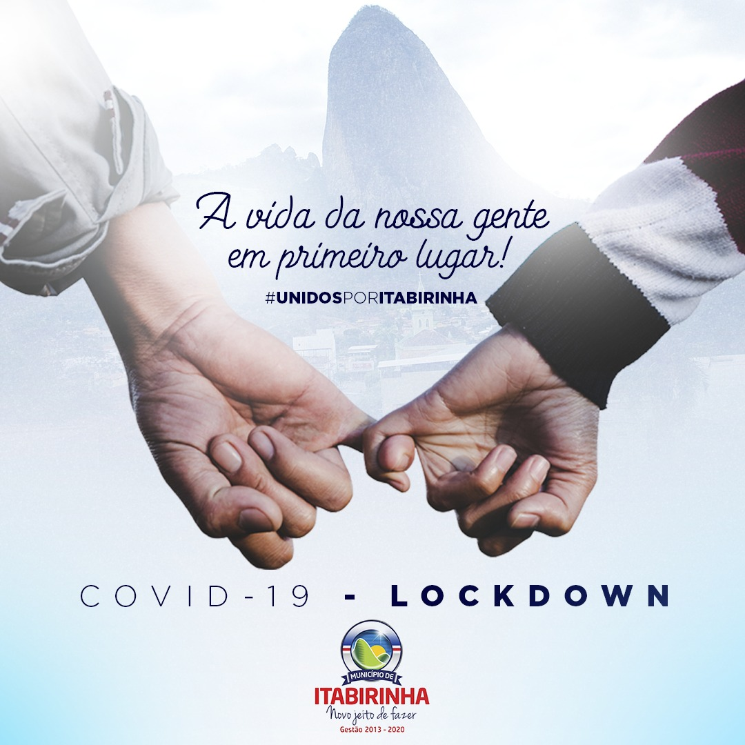 PREFEITO DEGO REIS DECRETA LOCKDOWN NO MUNICÍPIO A P...