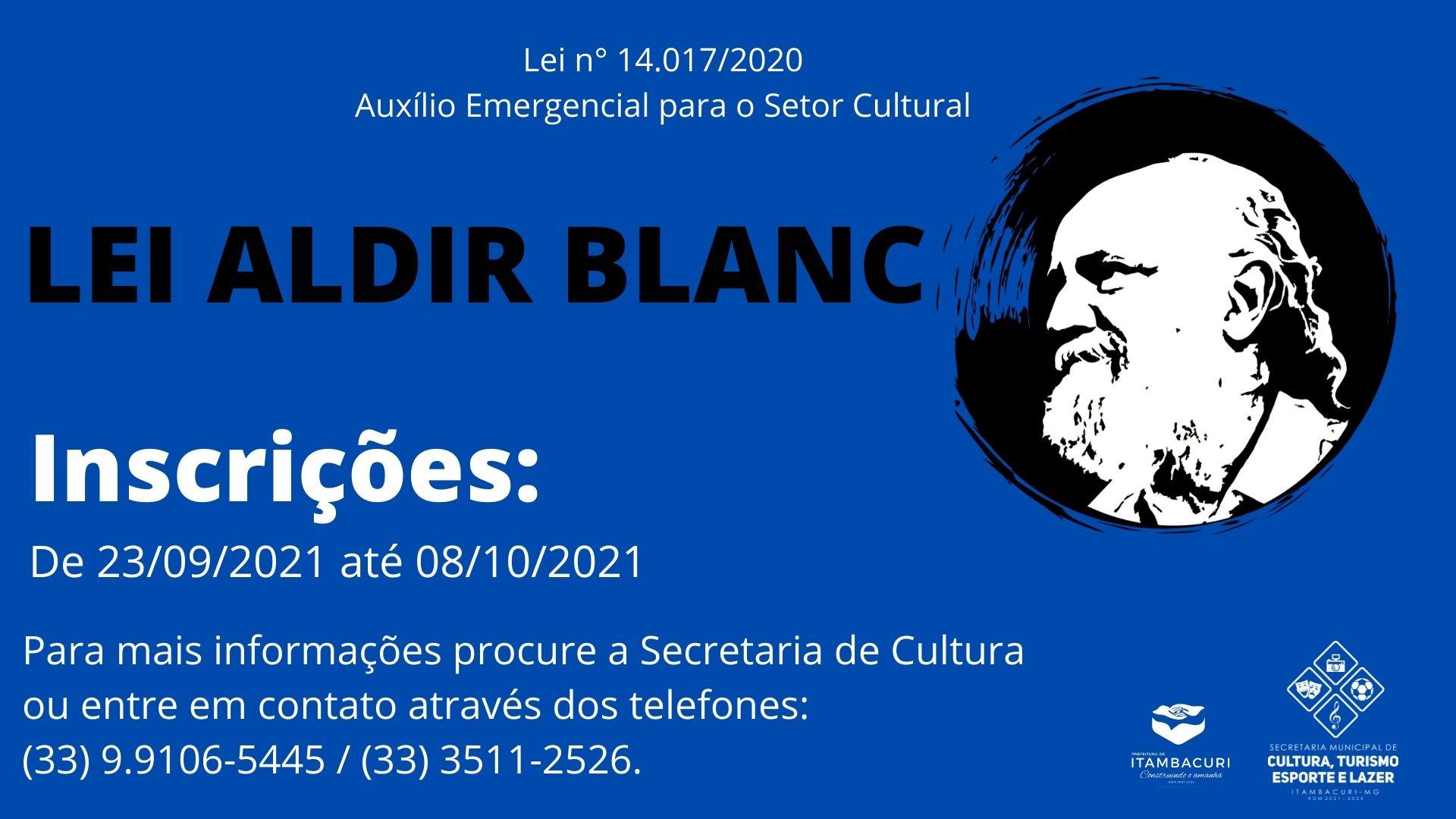 SECRETARIA DE CULTURA LANÇA EDITAL REFERENTE À LEI A...