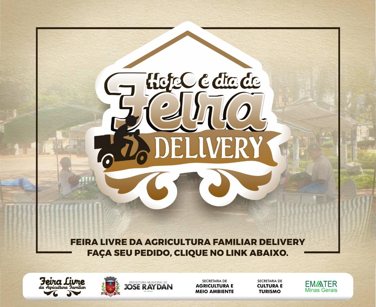 FEIRA DA AGRICULTURA FAMILIAR DELIVERY - JOSÉ RAYDAN/MG
