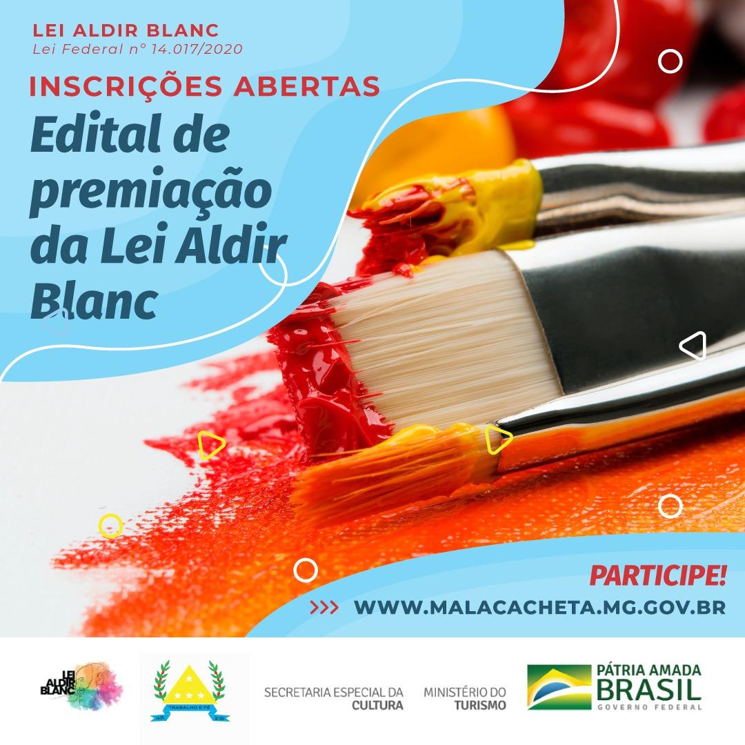 MALACACHETA ABRE EDITAL PARA PREMIAÇÃO VIA LEI ALDIR...