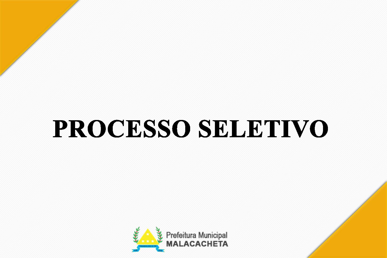 RESULTADO FINAL DO PROCESSO SELETIVO SIMPLIFICADO - ...