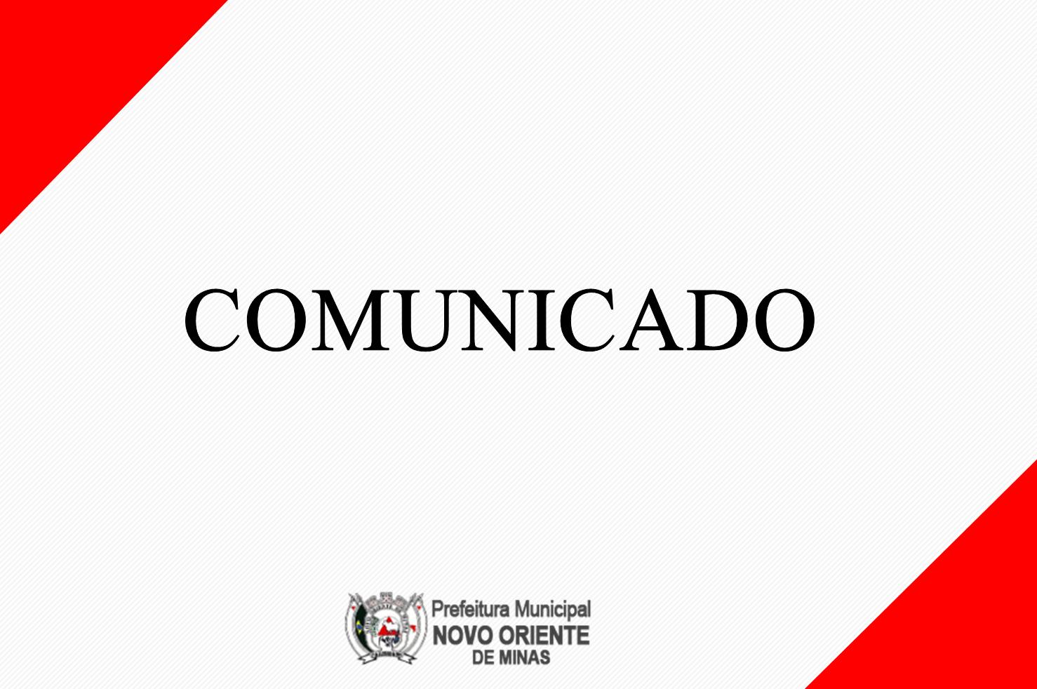 COMUNICADO: COLETA DE ENTULHO